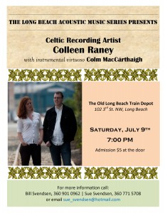 colleen and colm poster
