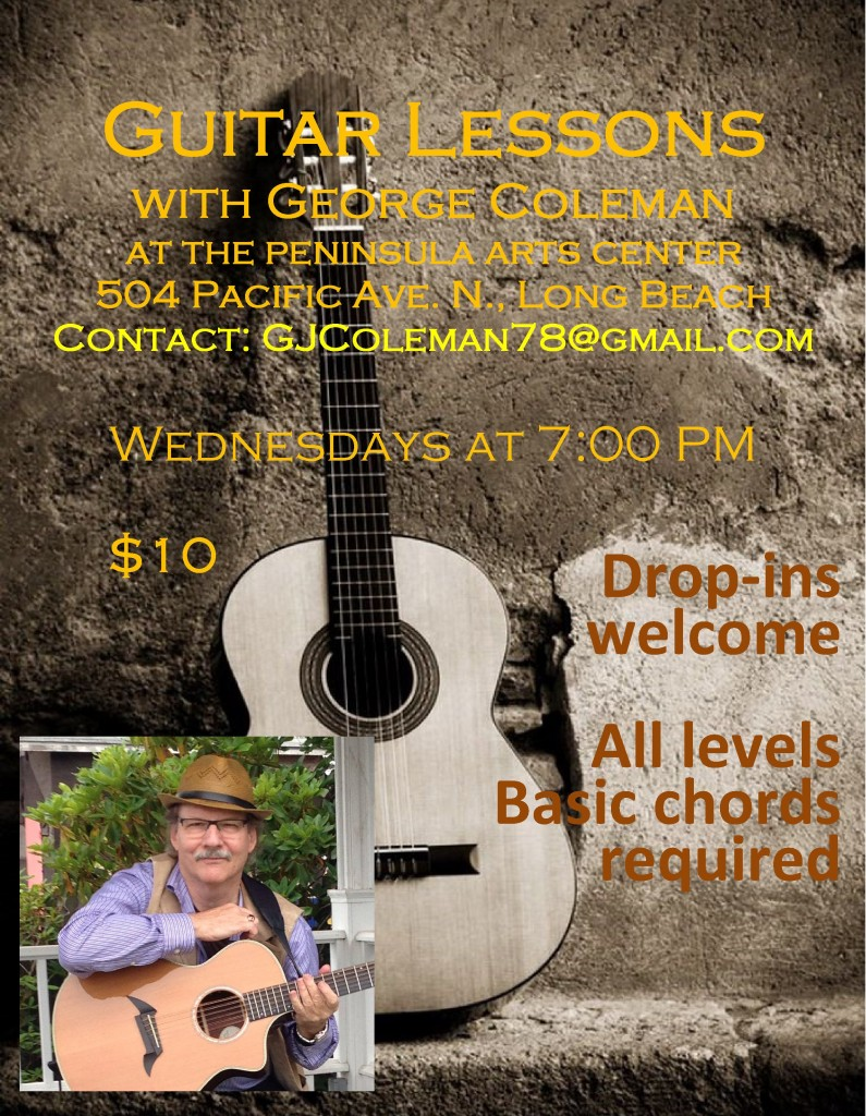 Guitar Lessons Poster